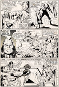 Original Comic Art:Panel Pages, John Buscema and Tom Palmer Avengers #75 Story Page 14 Scarlet Witch Original Art (Marvel, 1970)....
