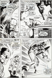 Gene Colan and Joe Sinnott Captain America #116 Story Page 4 Original Art (Marvel, 1969)