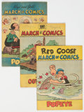 Golden Age (1938-1955):Miscellaneous, March of Comics Group of 13 (K. K. Publications, Inc., 1948-51) Condition: Average VG/FN.... (Total: 13 Comic Books)