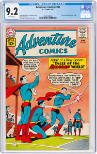 Adventure Comics #285 (DC, 1961) CGC NM- 9.2 Off-white pages