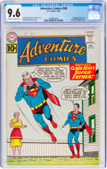 Silver Age (1956-1969):Superhero, Adventure Comics #289 (DC, 1961) CGC NM+ 9.6 Off-white to white pages....