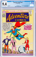 Silver Age (1956-1969):Superhero, Adventure Comics #293 (DC, 1962) CGC NM 9.4 Off-white to white pages....
