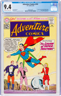 Adventure Comics #293 (DC, 1962) CGC NM 9.4 Off-white to white pages
