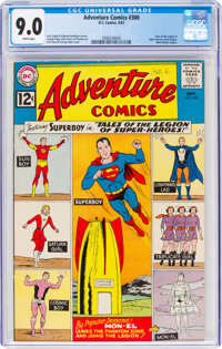 Adventure Comics #300 (DC, 1962) CGC VF/NM 9.0 White pages
