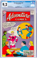 Silver Age (1956-1969):Superhero, Adventure Comics #307 (DC, 1963) CGC NM- 9.2 White pages.