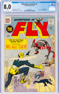 Silver Age (1956-1969):Superhero, Adventures of the Fly #1 (Archie, 1959) CGC VF 8.0 White p...