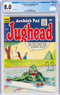 Silver Age (1956-1969):Humor, Archie's Pal Jughead #79 (Archie, 1961) CGC VF 8.0 Off-white to white pages....