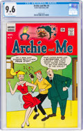 Silver Age (1956-1969):Humor, Archie and Me #3 (Archie, 1965) CGC NM+ 9.6 White pages....