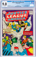 Silver Age (1956-1969):Superhero, Justice League of America #21 (DC, 1963) CGC VF/NM 9.0 Whi...