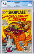 Silver Age (1956-1969):Superhero, Showcase #12 Challengers of the Unknown (DC, 1958) CGC FN/...