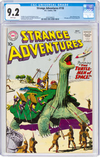 Strange Adventures #118 (DC, 1960) CGC NM- 9.2 White pages