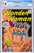 Silver Age (1956-1969):Superhero, Wonder Woman #102 (DC, 1958) CGC FN/VF 7.0 Off-white to wh...