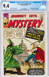 Journey Into Mystery #96 (Marvel, 1963) CGC NM 9.4 White pages