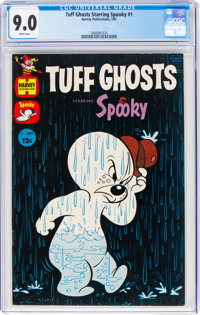 Tuff Ghosts Starring Spooky #1 (Harvey, 1962) CGC VF/NM 9.0 White pages