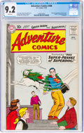 Silver Age (1956-1969):Superhero, Adventure Comics #266 (DC, 1959) CGC NM- 9.2 White pages....