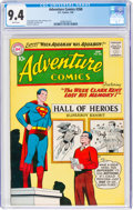 Silver Age (1956-1969):Superhero, Adventure Comics #268 (DC, 1960) CGC NM 9.4 White pages.