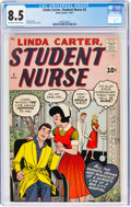 Silver Age (1956-1969):Romance, Linda Carter, Student Nurse #2 (Atlas, 1961) CGC VF+ 8.5 Off-white to white pages....