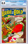 Silver Age (1956-1969):Adventure, The Brave and the Bold #9 (DC, 1956) CGC VF 8.0 Off-white pages....