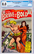 Silver Age (1956-1969):Adventure, The Brave and the Bold #16 (DC, 1958) CGC VF 8.0 Off-white to white pages....