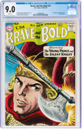 Silver Age (1956-1969):Adventure, The Brave and the Bold #21 (DC, 1958) CGC VF/NM 9.0 White pages....