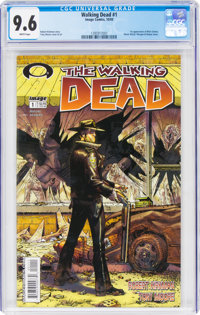 The Walking Dead #1 (Image, 2003) CGC NM+ 9.6 White pages
