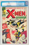 Silver Age (1956-1969):Superhero, X-Men #1 (Marvel, 1963) CGC VF 8.0 Cream to off-white pages....
