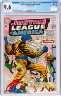 Silver Age (1956-1969):Superhero, Justice League of America #20 (DC, 1963) CGC NM+ 9.6 White pages....