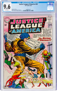 Justice League of America #20 (DC, 1963) CGC NM+ 9.6 White pages