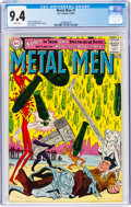 Silver Age (1956-1969):Superhero, Metal Men #1 (DC, 1963) CGC NM 9.4 White pages....