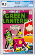 Silver Age (1956-1969):Superhero, Showcase #23 Green Lantern (DC, 1959) CGC VF 8.0 White pages....