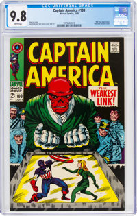 Captain America #103 (Marvel, 1968) CGC NM/MT 9.8 White pages