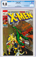 Silver Age (1956-1969):Superhero, X-Men #60 (Marvel, 1969) CGC NM/MT 9.8 White pages....