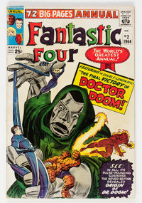 Fantastic Four Annual #2 (Marvel, 1964) Condition: VG