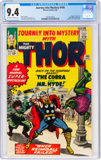 Journey Into Mystery #105 (Marvel, 1964) CGC NM 9.4 Off-white to white pages
