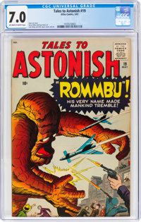 Tales to Astonish #19 (Atlas, 1961) CGC FN/VF 7.0 Off-white to white pages