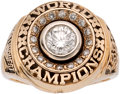 Football Collectibles:Others, 1996 Green Bay Packers Super Bowl XXXI Championship Ring Presented to Wife of Linebacker Lamont Hollinquest....