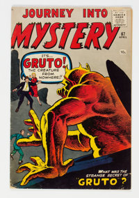 Journey Into Mystery #67 (Marvel, 1961) Condition: VG+