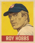 "Baseball Collectibles:Others, 2019 Roy Hobbs 1948 Leaf ""Card That Never Was"" Original Painting by Arthur Miller. ..."
