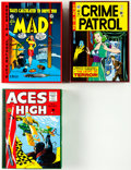 Memorabilia:Comic-Related, EC Archives Hardcover Slipcase Sets Group of 3 (Russ Cochran, 1980s-1990s).... (Total: 3 Items)