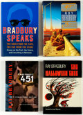 Books:First Editions, Ray Bradbury Signed Hardcover Editions Group of 5 (Various Publishers, 1972-2005).... (Total: 5 Items)