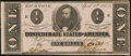Confederate Notes:1863 Issues, T62 $1 1863 PF-13 Cr. 484 Very Fine-Extremely Fine.. ...