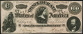 """Confederate Notes:1864 Issues, CT65/491 """"Havana Counterfeit"""" $100 1864 Choice About Uncirculated.. ..."""