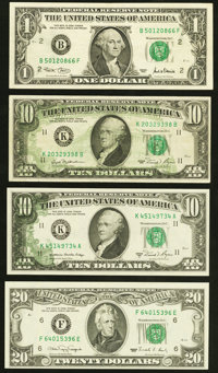Back to Face Offsets and More Federal Reserve Notes Four Examples. ... (Total: 4 notes)