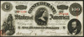 Confederate Notes:1863 Issues, T56 $100 1863 PF-3 Cr. 402 Choice Crisp Uncirculated.. ...