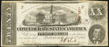 Confederate Notes:1863 Issues, T58 $20 1863 PF-4 Cr. 418 Fine-Very Fine.. ...