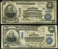 Cleveland, OH - $5 1902 Plain Back Fr. 601 Central National Bank Ch. # (M)4318 Very Good;