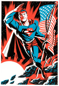 Michael Cho - Superman Original Art (DC Comics, 2016)