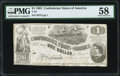 Confederate Notes:1862 Issues, T44 $1 1862 PF-3 Cr. 341 PMG Choice About Uncirculated 58.. ...