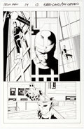 Original Comic Art:Panel Pages, Greg Land and Jay Leisten Iron Man #14 Story Page 13 Original Art (Marvel, 2013)....