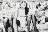 Ellen von Unwerth (German, b. 1954) Peaches, Rouilly le Bas, Paris, 2003 Gelatin silver 13-1/8 x